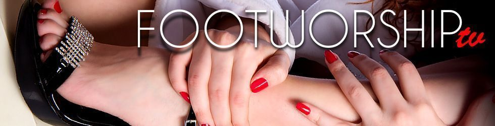 Foot Worship - Girls get their sexy feet licked - Page 11